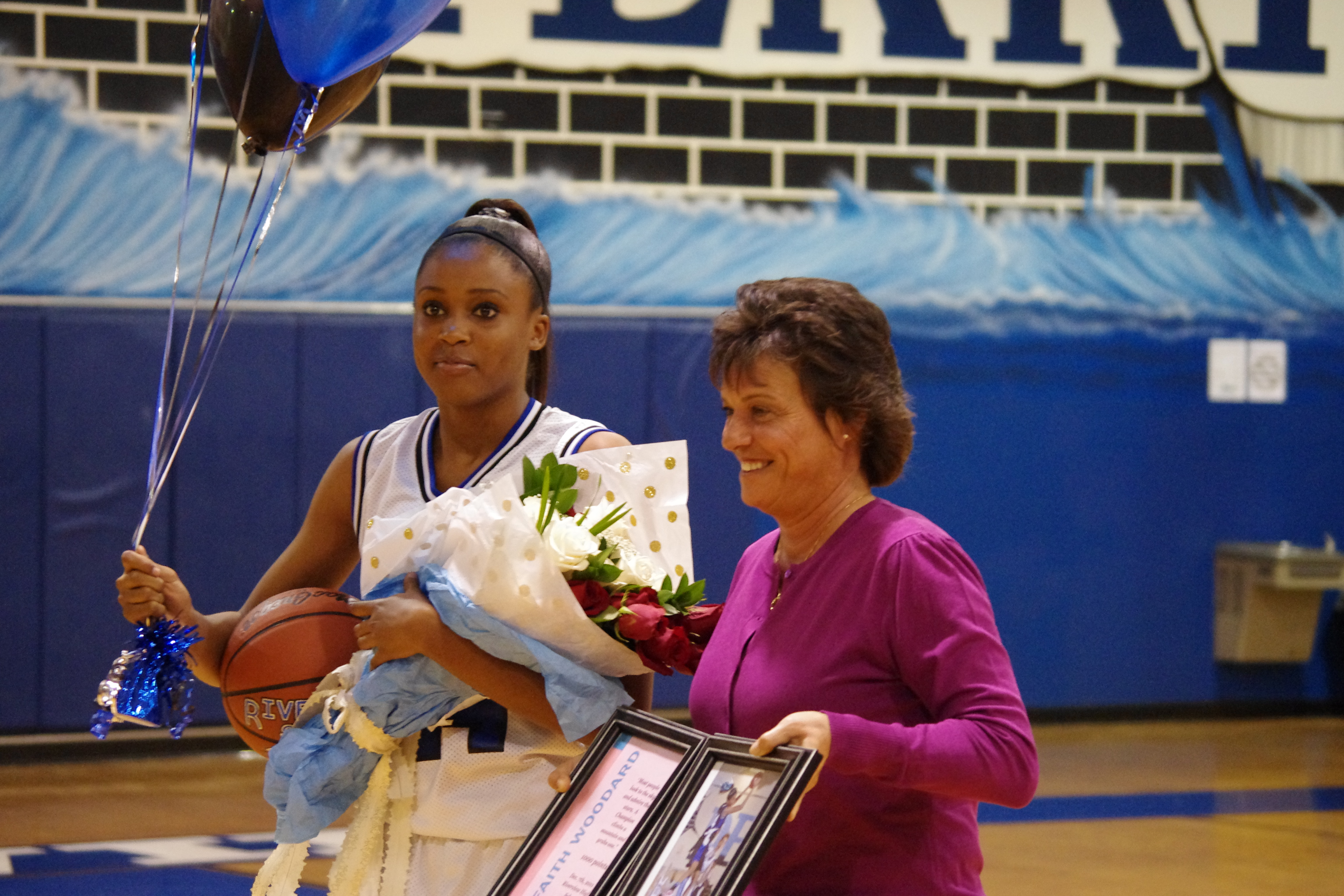 Woodard Nets 1,000 Point Milestone