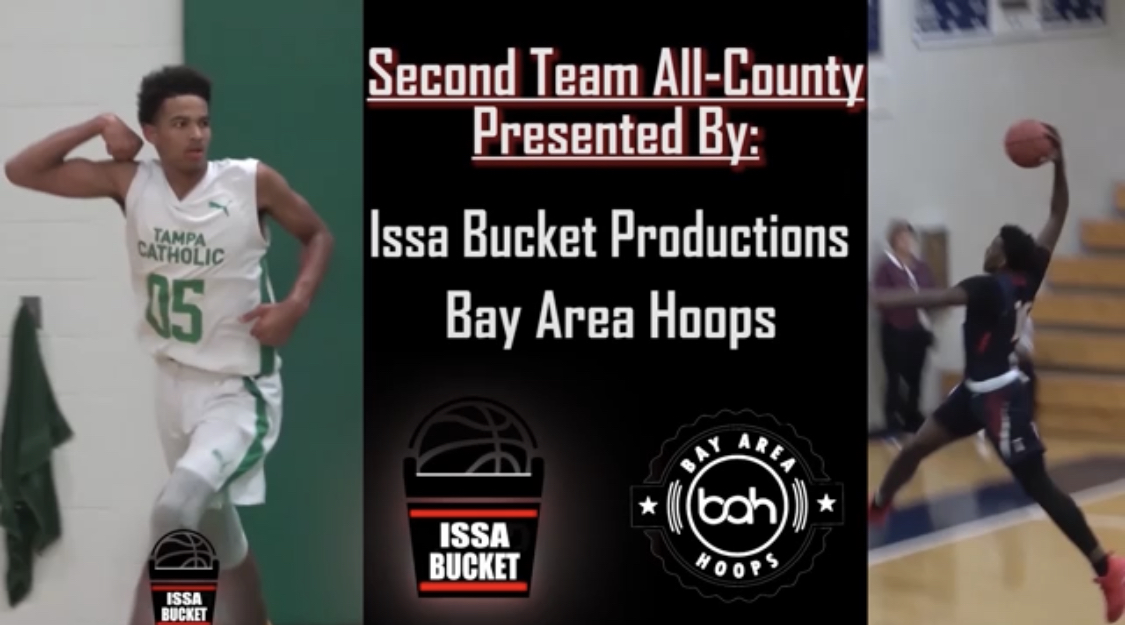2018-2019 BAH/ Issa Bucket Productions Second Team All County Selection