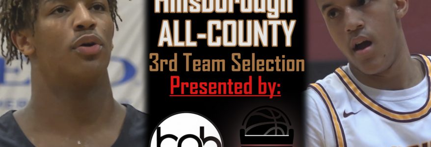 2019-20 Tampa Bay Boys Basketball All-Hillsborough County Third Team & Honorable Mention